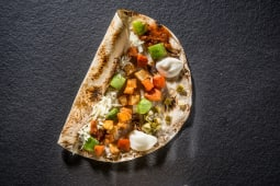 Veggie dil kebab