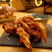 Tiras de pollo