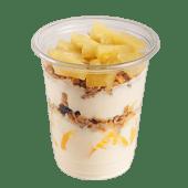 საუზმე გრანოლათი და ანანასით / Breakfast with granola and pineapple