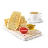 Tostadas con tomate + café o zumo