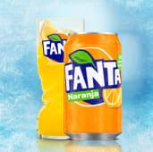 Fanta Naranja lata, 33cl