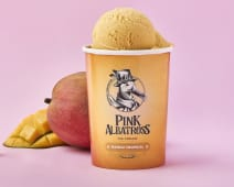 Helado vegano de mango tropical (450 ml.)