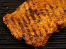 Ceafa de porc la grătar