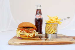 Meal Deal Premium Chicken Burger