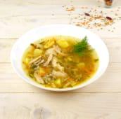 Суп гречаний з куркою (350г)