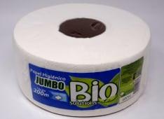 Papel Higienico Jumbo Blanco Doble Hoja 200Mt