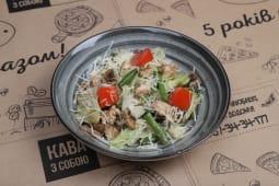 Теплий салат з індичкою (180г)