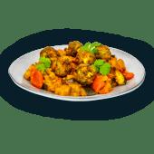 Vege klopsiki z sosem curry