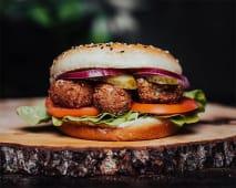Classic Falafel Burger