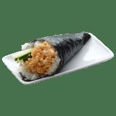 Temaki tartare saumon spicy