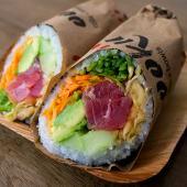 Roll (burrito) atún