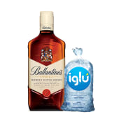 Ballantines Finest 750 Ml + Evervess 1.5 Lt + Hielo 1.5 Kg