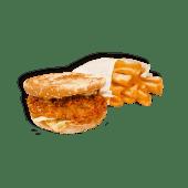 DuoMeniu Burger Pui Clasic