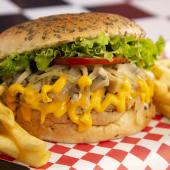 Veggie Cheddar Burger
