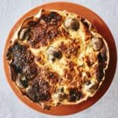 Quiche de Cogumelos e Alho Francês | inteira (+-1,5kg) - Assada