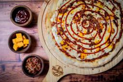 Pizza americana (pequeña)
