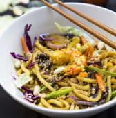 Chow Mein Gamberi (Thai)