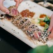 Tataki de atún (porción)