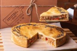 Пиріг з куркою та овочевим рагу (150г)