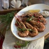 Королівська креветка в гостро-солодкому соусі (100г)