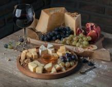 Assortment of European Cheese