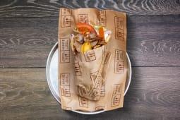 Sandwich gyros de porc