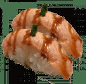 33. Nigiri salmón flameado (2 uds)