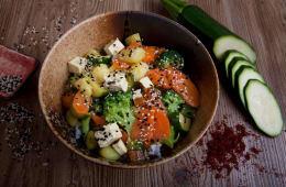 Tofu & Vegetables rice Don