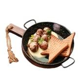 Яловичі мітболи з соусом Блю-чіз