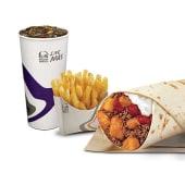 Combo 1 - Burrito 1/2 libra de carne y papas