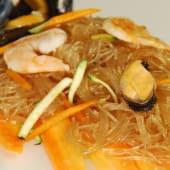 047. Spaghetti di Soia con Frutti di Mare