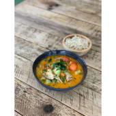 Curry rojo picante sin gluten