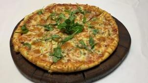 Піца Шинка з грибами (500г/28см)