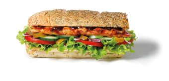 BBQ Ribs Sandwich 30cm