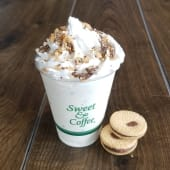 Cookies and caramel shake