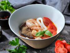 Supa Tailandeza cu fructe de mare