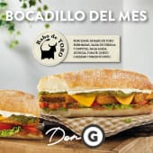 Bocadillo de rabo de toro (normal)