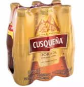 Cerveza Cusqueña Dorada Sixpack Bot 330 Ml