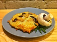Картопляні деруни з грибами (160г)