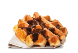 Waffle Com Xarope