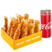 Smart Pack Creveti cu doza Coca-Cola cadou