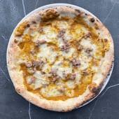 Pizza Zucca e Salsiccia