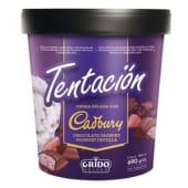 Pote Grido Cadbury con yogur de frutilla (1 lt.)