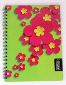 Cuaderno Espiral A4 200Hjs 1 Linea Economico Estilo