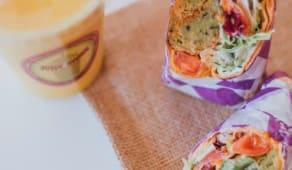 Wrap Falafel Roll - Picante