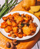 Картопля з грибами запечена (200г)