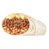 Burrito de queso doble carne