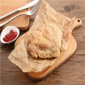 Crujiente de pechuga de pollo con almendras