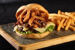 Burger BBQ Swiss