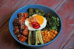 Бібімбаб з тофу (400г)